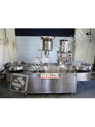 Automatic Injectable Dry Powder Filling with Rubber Stoppering Machine