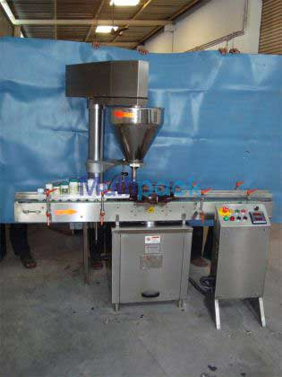 Automatic Single Head Auger Type Dry Syrup Powder Filling Machine
