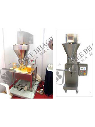 Semi Automatic Single Head Auger Type Powder Filling Machine