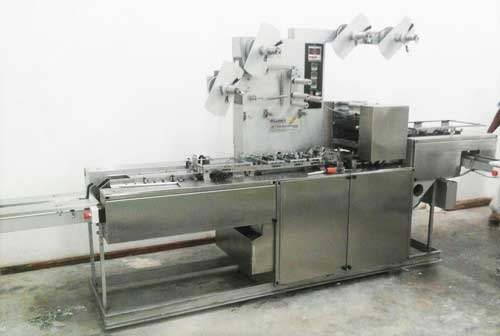 Detergent Bar And Laundry Soap Wrapping Machine