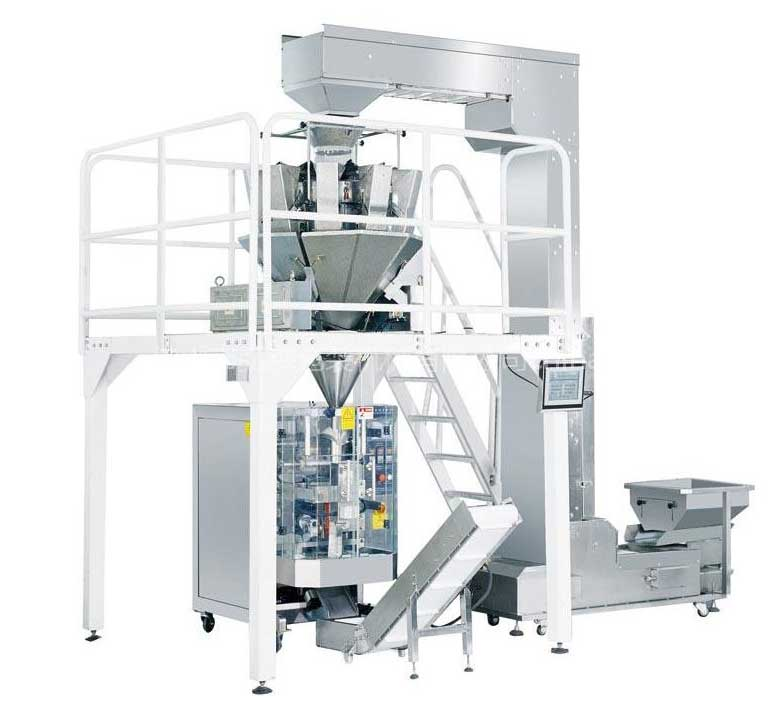 Vffs Packaging Machine With Multi-head Weigher