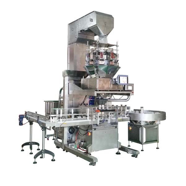 Net Weight Filling Machine for Bottle, Jar and Tin