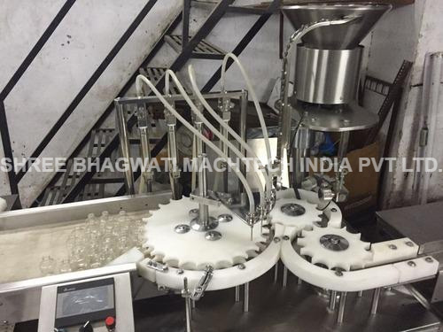 Liquid Vial Filling stoppering machine